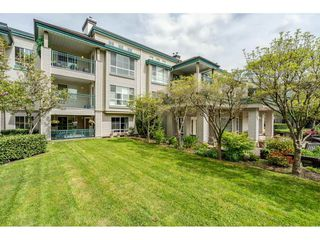 """Photo 1: 137 19528 FRASER Highway in Surrey: Cloverdale BC Condo for sale in """"Fairmont on the Blvd"""" (Cloverdale)  : MLS®# R2509162"""