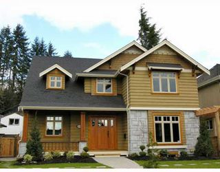 Photo 1: 1037 LAWSON Avenue in West_Vancouver: Sentinel Hill House for sale (West Vancouver)  : MLS®# V754842