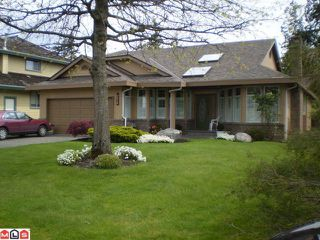 """Photo 1: 10526 ARBUTUS Wynd in Surrey: Fraser Heights House for sale in """"GLENWOOD"""" (North Surrey)  : MLS®# F1013393"""