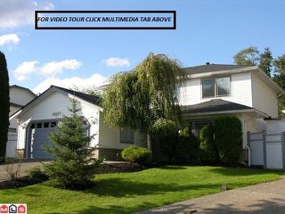"Photo 1: 14657 84A Avenue in Surrey: Bear Creek Green Timbers House for sale in ""Chelsea Park"" : MLS®# F1022493"