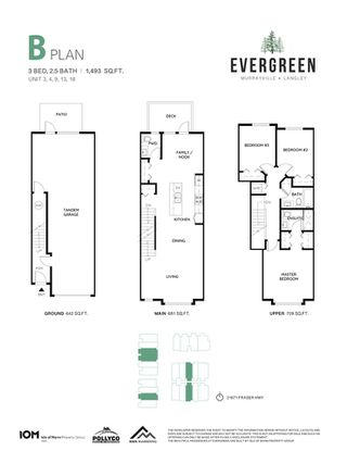 """Photo 8: 4 21688 52 Avenue in Langley: Murrayville Townhouse for sale in """"Evergreen"""" : MLS®# R2518374"""