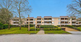 "Photo 1: 105 10221 133A Street in Surrey: Whalley Condo for sale in ""Village at Surrey Place"" (North Surrey)  : MLS®# R2528309"