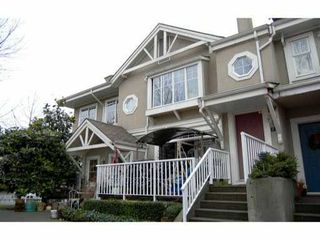 "Photo 1: 6 2422 HAWTHORNE Avenue in Port Coquitlam: Central Pt Coquitlam Townhouse for sale in ""HAWTHORNE GATE"" : MLS®# V861373"