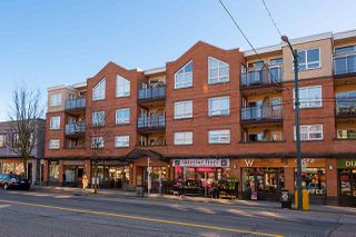 """Main Photo: 312 3638 W BROADWAY in Vancouver: Kitsilano Condo for sale in """"Coral Court"""" (Vancouver West)  : MLS®# R2438845"""