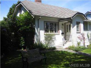 Photo 1: 828 Hampshire Rd in VICTORIA: OB South Oak Bay House for sale (Oak Bay)  : MLS®# 544308