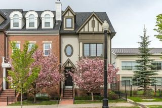 Photo 1: 4111 GARRISON Boulevard SW in Calgary: Garrison Woods Row/Townhouse for sale : MLS®# C4300161