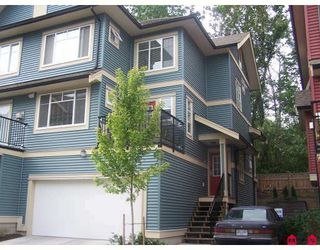 "Photo 1: 18 6635 192ND Street in Surrey: Clayton Townhouse for sale in ""Leafside Lane"" (Cloverdale)  : MLS®# F2820322"