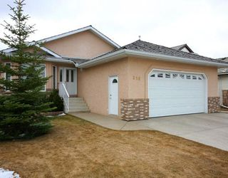 Photo 1: 216 WOODSIDE Crescent NW: Airdrie Residential Detached Single Family for sale : MLS®# C3375546