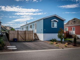 Photo 1: 12 7805 DALLAS DRIVE in Kamloops: Campbell Creek/Deloro Manufactured Home/Prefab for sale : MLS®# 152738