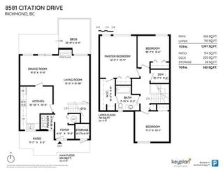 """Photo 6: 8581 CITATION Drive in Richmond: Brighouse Townhouse for sale in """"SARATOGA WEST"""" : MLS®# R2447487"""