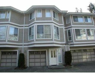 "Photo 1: 12 3228 RALEIGH Street in Port_Coquitlam: Central Pt Coquitlam Townhouse for sale in ""MAPLE CREEK"" (Port Coquitlam)  : MLS®# V753337"
