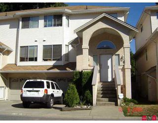 """Photo 1: 32339 7TH Ave in Mission: Mission BC Townhouse for sale in """"CEDAR BROOK ESTATES"""" : MLS®# F2620939"""