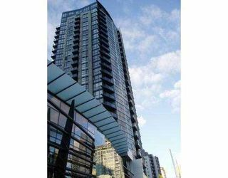 """Photo 1: 2102 1155 SEYMOUR Street in Vancouver: Downtown VW Condo for sale in """"BRAVA"""" (Vancouver West)  : MLS®# V756827"""