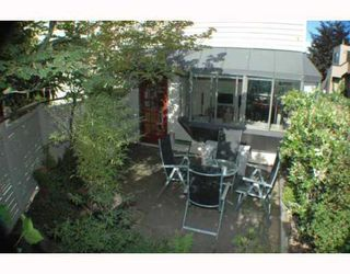 Photo 10: 11 1263 W 8TH Avenue in Vancouver: Fairview VW Townhouse for sale (Vancouver West)  : MLS®# V777797