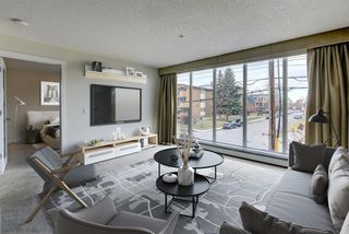 Photo 2: 206 603 7 Avenue NE in Calgary: Renfrew Apartment for sale : MLS®# A1047643