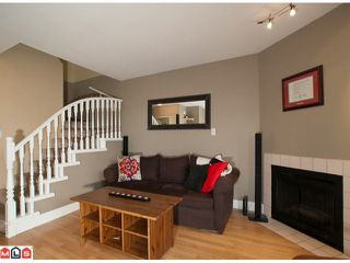 """Photo 3: 15 9540 PRINCE CHARLES Way in Surrey: Queen Mary Park Surrey Townhouse for sale in """"Cedar Hills"""" : MLS®# F1024039"""