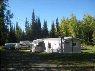 "Photo 1: 12120 WILLOWVALE Road in Prince George: Shelley Manufactured Home for sale in ""SHELLEY"" (PG Rural East (Zone 80))  : MLS®# N204835"