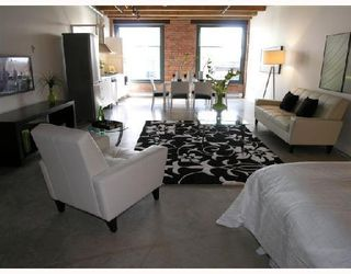 """Photo 3: 415 55 E CORDOVA Street in Vancouver: Downtown VE Condo for sale in """"KORET LOFTS"""" (Vancouver East)  : MLS®# V723133"""