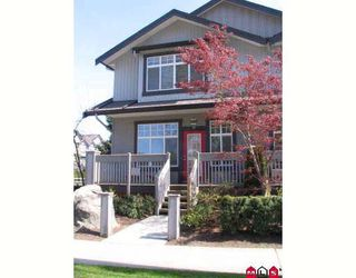 """Photo 1: 19 18828 69TH Avenue in Surrey: Clayton Townhouse for sale in """"STARPOINT"""" (Cloverdale)  : MLS®# F2909290"""