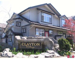 """Photo 2: 19 18828 69TH Avenue in Surrey: Clayton Townhouse for sale in """"STARPOINT"""" (Cloverdale)  : MLS®# F2909290"""