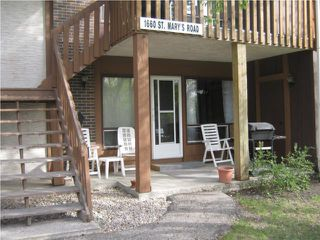 Photo 1: 1660 St Mary's Road in WINNIPEG: St Vital Condominium for sale (South East Winnipeg)  : MLS®# 1007853