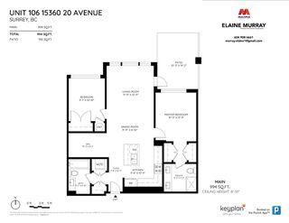 "Photo 18: 106 15360 20 Avenue in Surrey: King George Corridor Condo for sale in ""Adagio 1"" (South Surrey White Rock)  : MLS®# R2388419"
