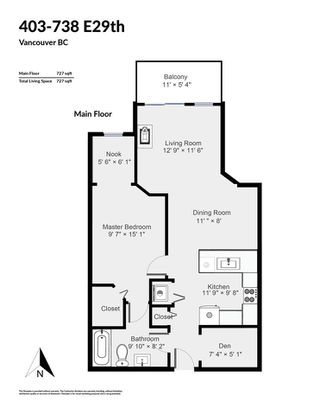 """Photo 20: 403 738 E 29TH Avenue in Vancouver: Fraser VE Condo for sale in """"Century"""" (Vancouver East)  : MLS®# R2426348"""