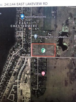 Photo 1: 241144 EAST LAKEVIEW Road: Chestermere Land for sale : MLS®# A1022792