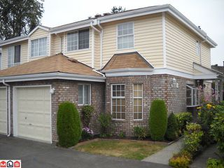 """Photo 1: 144 12233 92 Avenue in Surrey: Queen Mary Park Surrey Townhouse for sale in """"Orchard Lake"""" : MLS®# F1021469"""