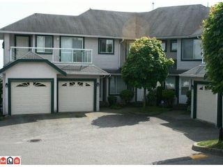 Photo 1: 104 3160 TOWNLINE Road in Abbotsford: Abbotsford West Townhouse for sale : MLS®# F1022227