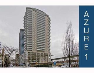 "Photo 1: 2207 898 CARNARVON Street in New_Westminster: Downtown NW Condo for sale in ""AZURE TOWER 1"" (New Westminster)  : MLS®# V752708"