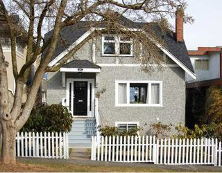 "Photo 1: 3267 W 21ST Avenue in Vancouver: Dunbar House for sale in ""DUNBAR"" (Vancouver West)  : MLS®# V758868"