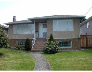 Photo 1: 4538 MANOR Street in Vancouver: Collingwood VE House for sale (Vancouver East)  : MLS®# V768767