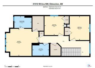 Photo 43: 21312 58 Avenue in Edmonton: Zone 58 House for sale : MLS®# E4194564