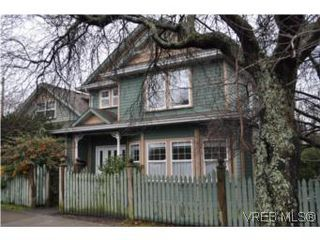 Photo 1: 445 Montreal St in VICTORIA: Vi James Bay Half Duplex for sale (Victoria)  : MLS®# 523452