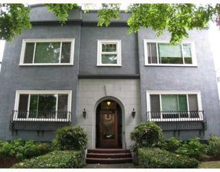 "Photo 1: 103 1545 W 13TH Avenue in Vancouver: Fairview VW Condo for sale in ""THE LEICESTER"" (Vancouver West)  : MLS®# V799945"
