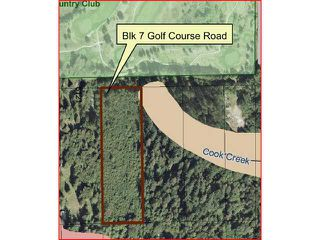 Photo 1: BLOCK 7 GOLF COURSE RD in Sechelt: Sechelt District Land for sale (Sunshine Coast)  : MLS®# V834530