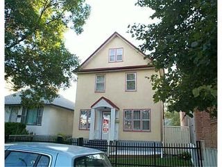Photo 1: 905 WINNIPEG Avenue in WINNIPEG: Brooklands / Weston Residential for sale (West Winnipeg)  : MLS®# 2512404