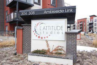 Photo 2: 214 304 AMBLESIDE Link in Edmonton: Zone 56 Condo for sale : MLS®# E4166388