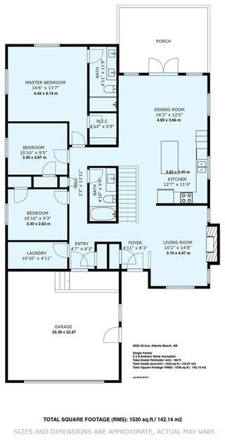 Photo 47: 4320 43 Avenue: Rural Lac Ste. Anne County House for sale : MLS®# E4184709
