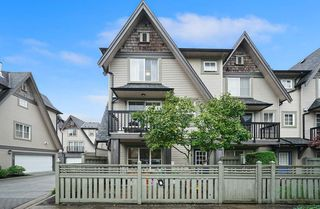 "Photo 1: 9 7733 TURNILL Street in Richmond: McLennan North Townhouse for sale in ""Somerset Crescent"" : MLS®# R2406309"