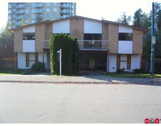 Photo 1: 9887 138TH Street in Surrey: Whalley House Duplex for sale (North Surrey)  : MLS®# F2901048