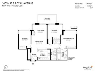 """Photo 4: 1403 15 E ROYAL Avenue in New Westminster: Fraserview NW Condo for sale in """"Victoria Hill"""" : MLS®# R2461883"""