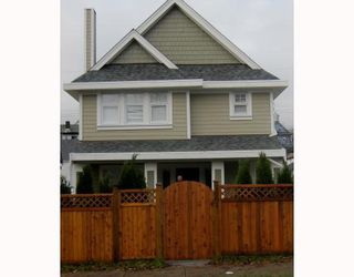 Photo 1: 1663 VICTORIA Drive in Vancouver: Grandview VE House 1/2 Duplex for sale (Vancouver East)  : MLS®# V799750