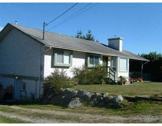 Main Photo: 6144 FAIRWAY AV in Sechelt: Sechelt District House for sale (Sunshine Coast)  : MLS®# V559867