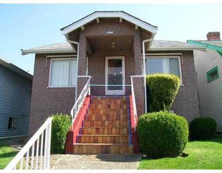 Main Photo: 4768 LITTLE Street in Vancouver: Victoria VE House for sale (Vancouver East)  : MLS®# V626305