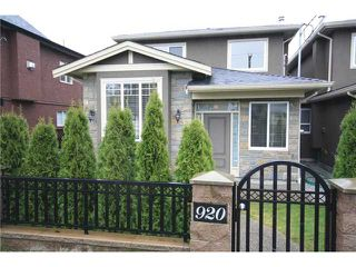 Photo 1: 920 SPERLING Avenue in Burnaby: Sperling-Duthie House 1/2 Duplex for sale (Burnaby North)  : MLS®# V859901