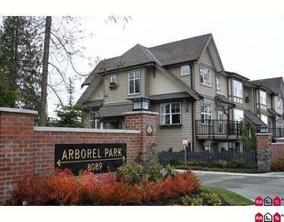 "Photo 1: 72 8089 209TH Street in Langley: Willoughby Heights Townhouse for sale in ""ARBOREL PARK"" : MLS®# F2911425"