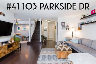 "Main Photo: 41 103 PARKSIDE Drive in Port Moody: Heritage Mountain Townhouse for sale in ""TREETOPS"" : MLS®# R2389734"