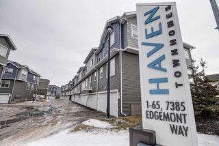 Photo 28: 31 7385 Edgemont Way NW in Edmonton: Zone 57 Townhouse for sale : MLS®# E4170127